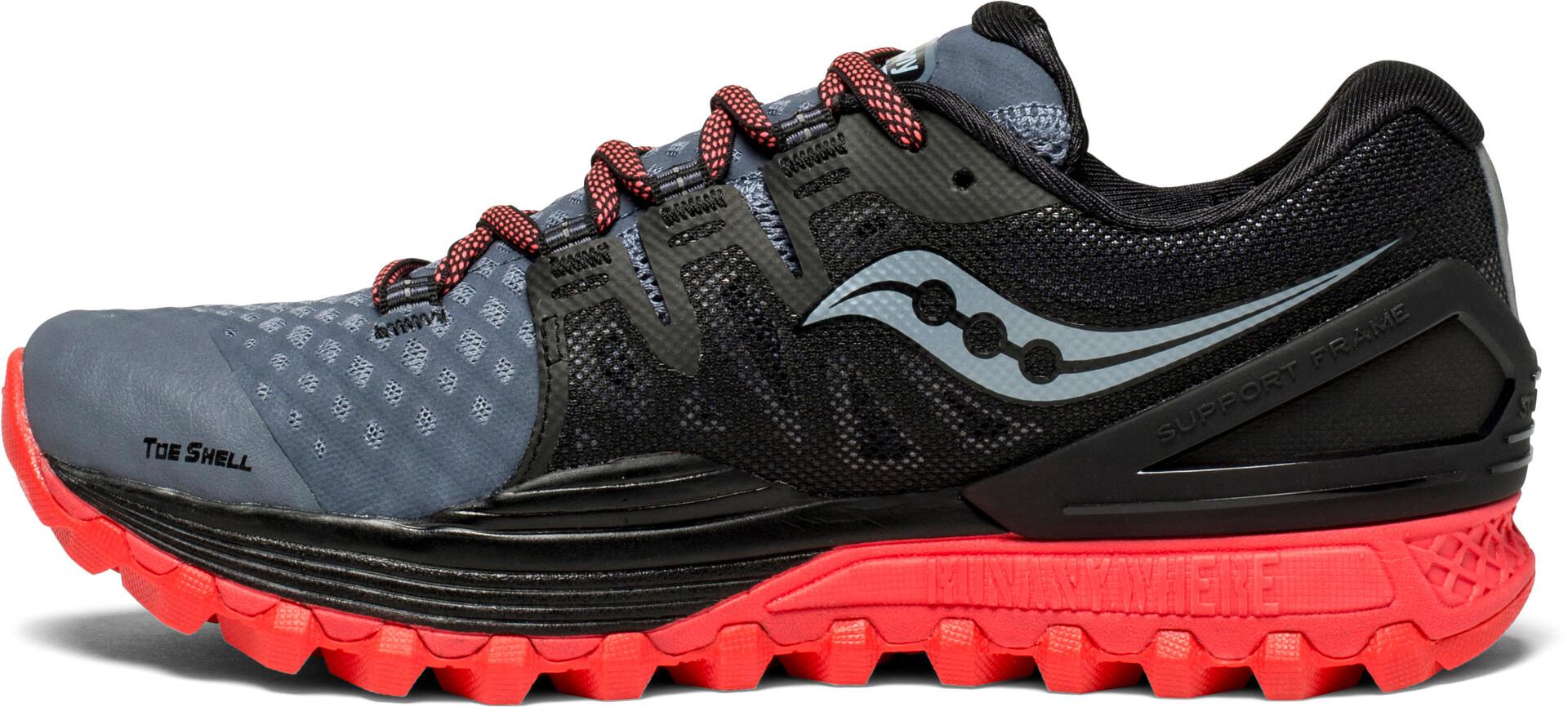Red Xodus Iso FemmeGreyblackvizipro Chaussures 2 Saucony WQerBdxCo